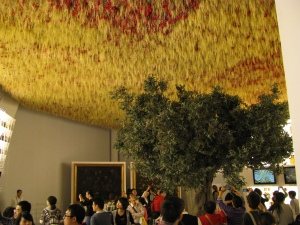 Italy Pavilion: an upside down room #shanghai#expo